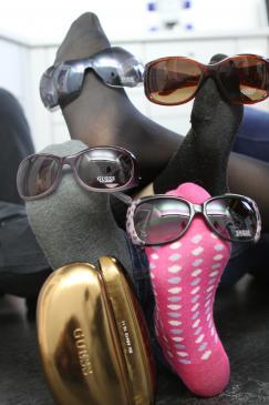 2unsere neuen Sonnenbrillen von Guess :)